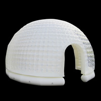 [GT074]White Semi-circle Inflatable Tent