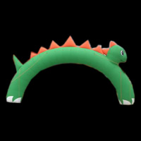 Green Inflatable ArchGA069