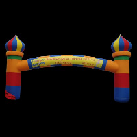 Castle Inflatable ArchGA086