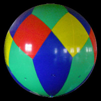 Colorful Inflatable BalloonGO004